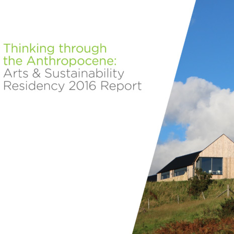 Arts & Sustainability 2016
