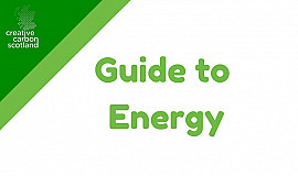 Creative Carbon Scotland's Guide to Energy