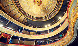 Interior of the Lyceum theatre, Edinburgh