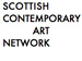 Scottish Contemporary Art Network logo