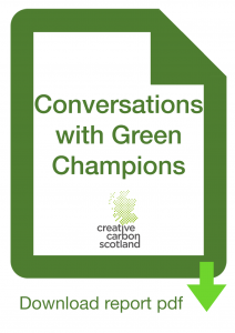 Conversations with Green Champions - image