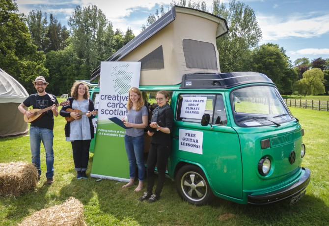 Fields of Green: Music Festivals and Climate Change