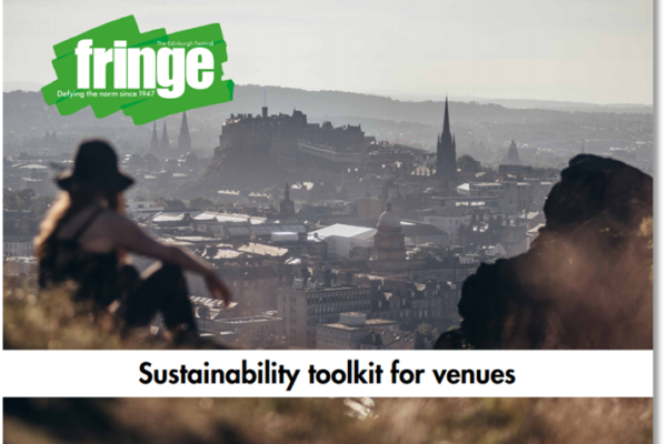 Sustainability toolkit for venues