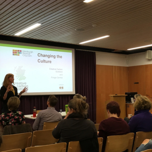 Rachel Sanger at Changing the Culture