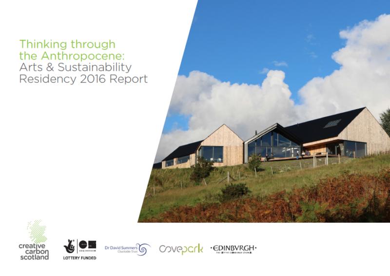 Arts & Sustainability 2016 Report Published