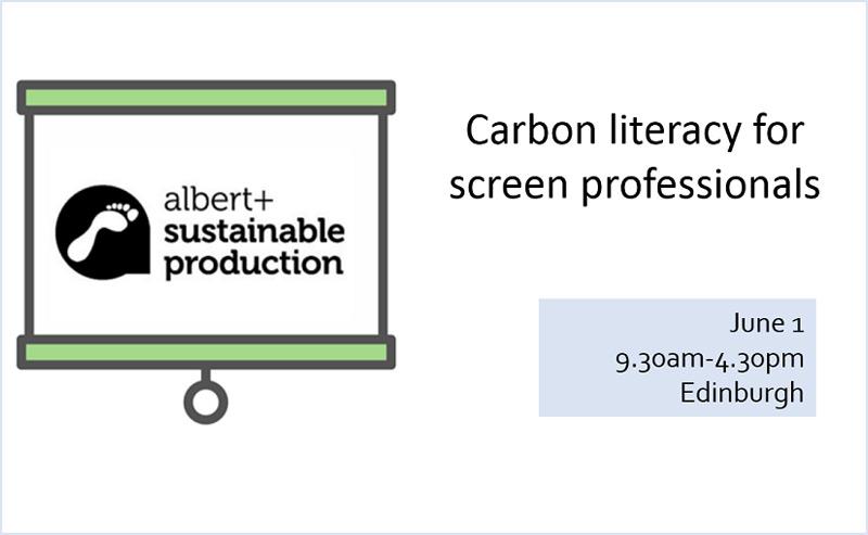 Carbon Literacy training with Bafta's Albert 2