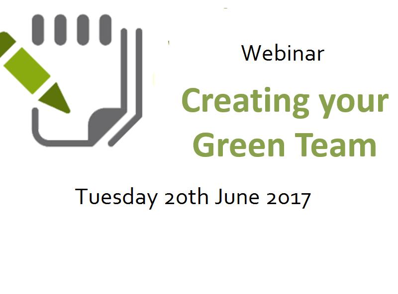 Webinar: Creating your Green Team