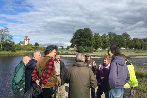 Tour of the River Teviot, River Ways programme
