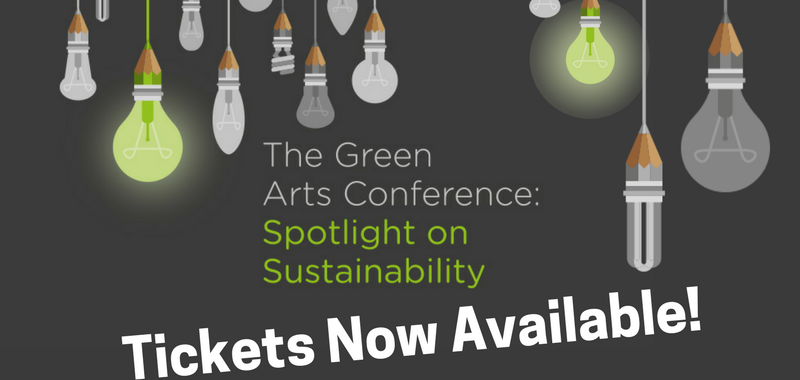 Tickets now available for The Green Arts Conference!