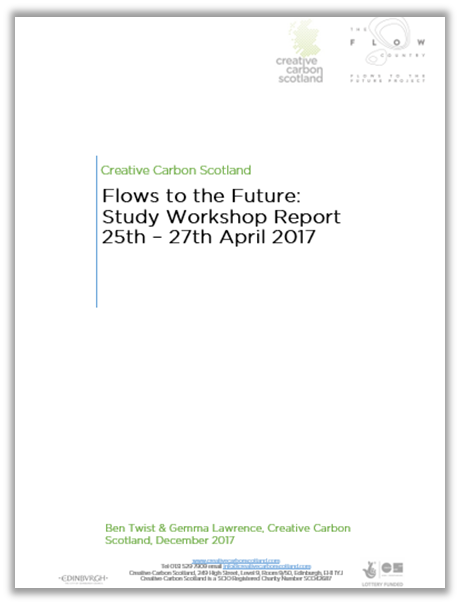 Flows to the Future Study Workshop report