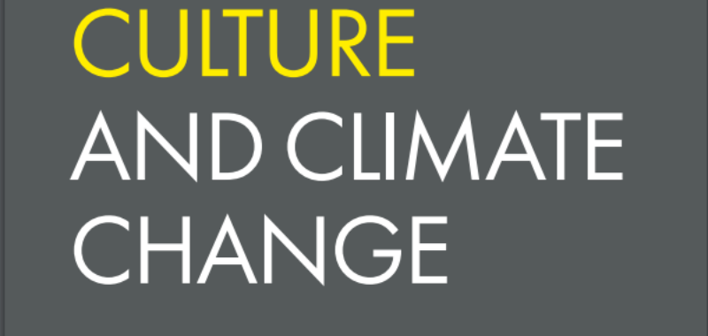 Green Arts Initiative Featured in Culture and Climate Change Handbook 1