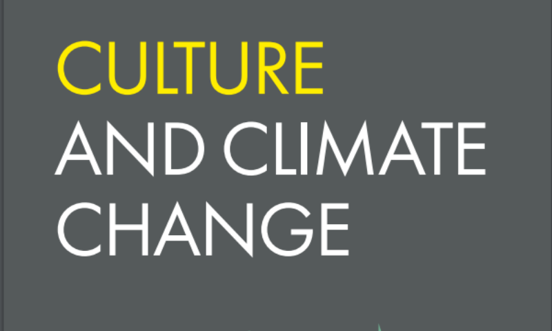 Green Arts Initiative Featured in Culture and Climate Change Handbook