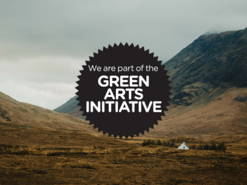 Get involved in #GreenArts Day: Wednesday 14th March