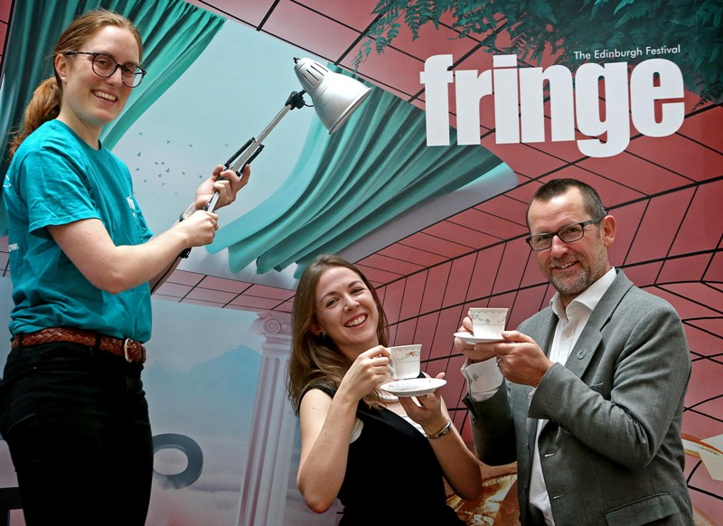 News: Fringe Swap Shop praised by Zero Waste Scotland