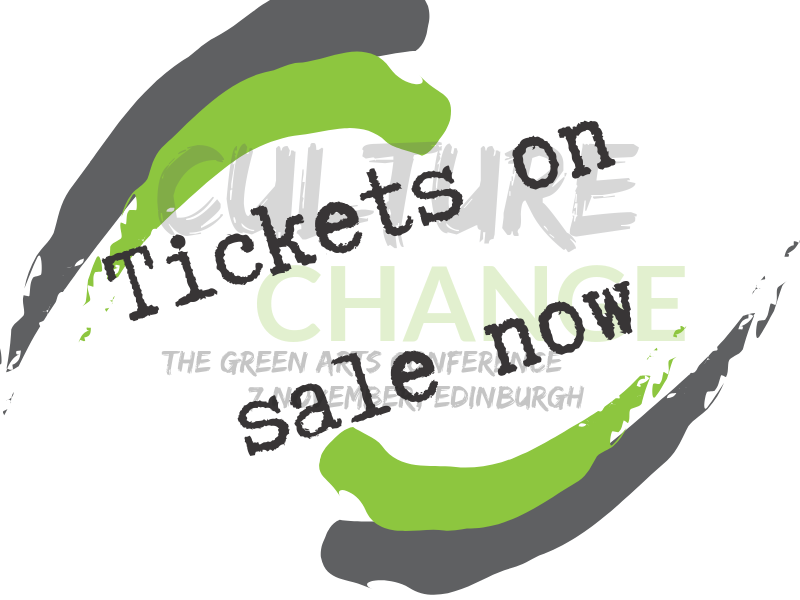 Tickets launched for Green Arts Conference!