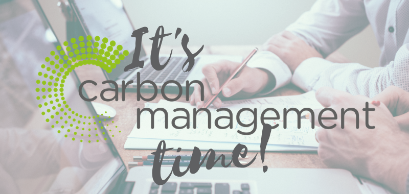 First ever Carbon Management Plans due 5th October