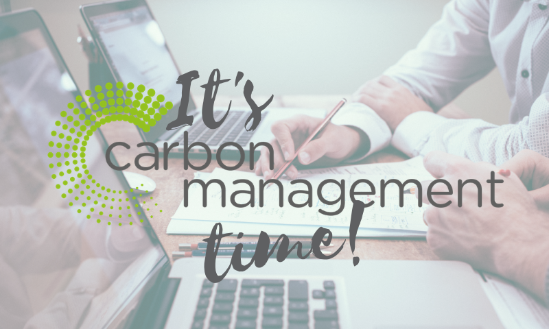Emissions reporting and carbon management planning update