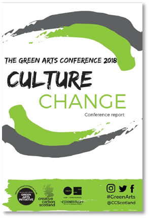 The biggest Green Arts Conference ever! - Read all about it
