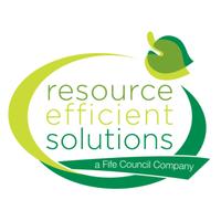 Logo: Resource Efficient Solutions - A Fife Council company