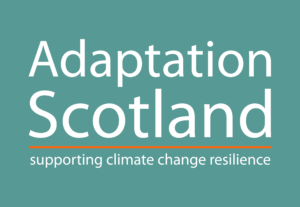 Logo: Adaptation Scotland - Supporting climate change resilience