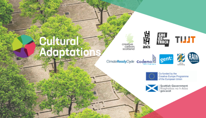 Cultural Adaptations Workshop: Adaptation Strategies for Cultural Managers + Partner logos