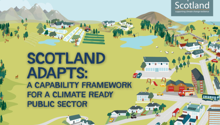 Launch of Scotland Adapts: A Capability Framework for a Climate Ready Public Sector