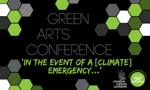 Tickets launched for Green Arts Conference 2019