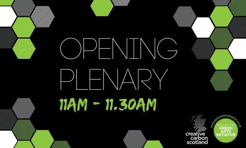 11am - 11.30am Morning Plenary - image