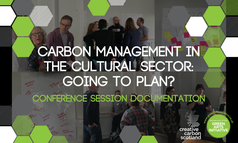 Carbon Management in the Cultural Sector: Going to Plan?