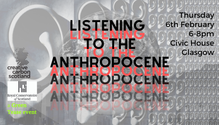 Listening to the Anthropocene