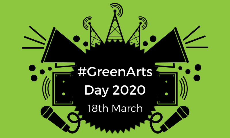 #GreenArts Day 2020: Save the Date!