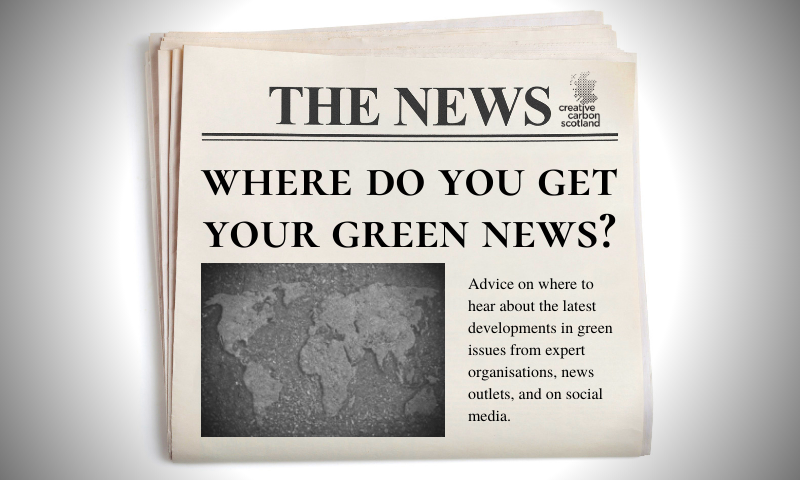 Where to get your Green News?