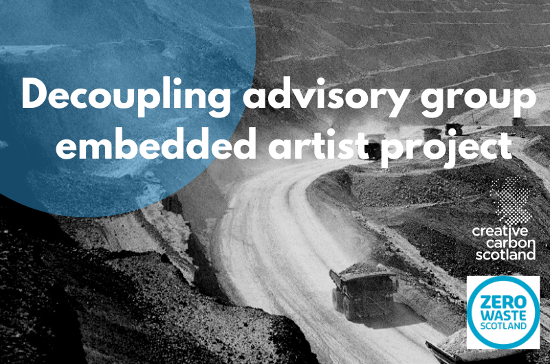 Decoupling advisory group embedded artist project