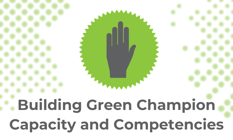 Creative Carbon Scotland's Guide to Green Champions: Building Competency and Capacity