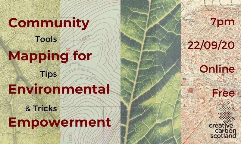Green Tease Reflections: Community Mapping for Environmental Empowerment
