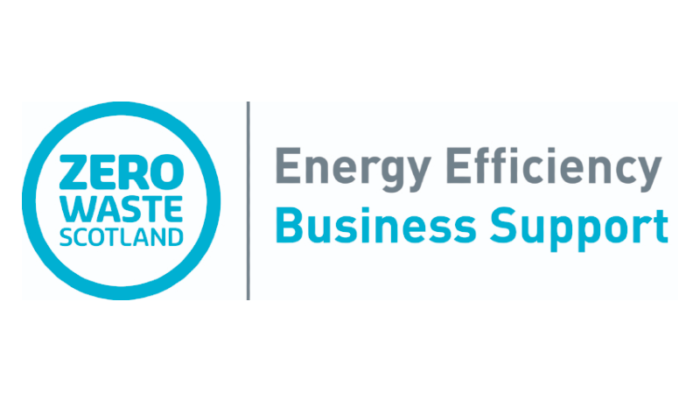 Zero Waste Scotland Energy Efficiency Business Support logo