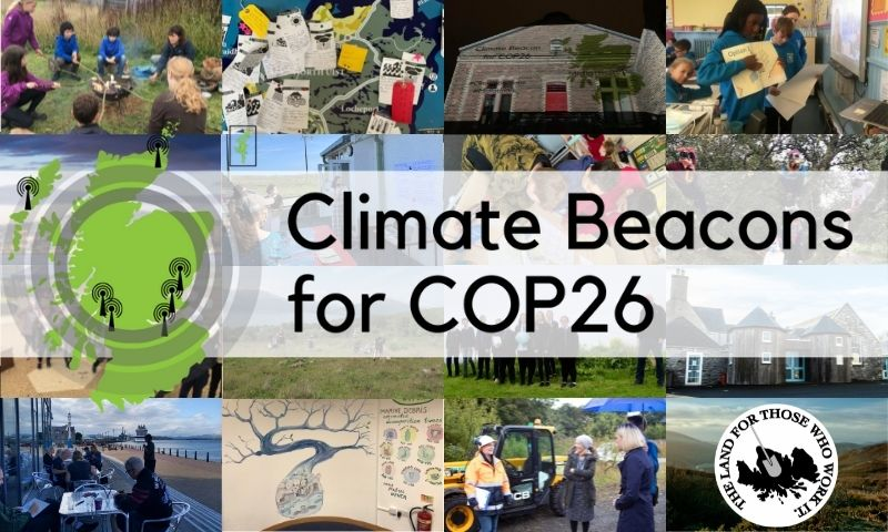 Climate Beacons for COP26