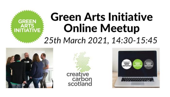 Green Arts Initiative online meetup
